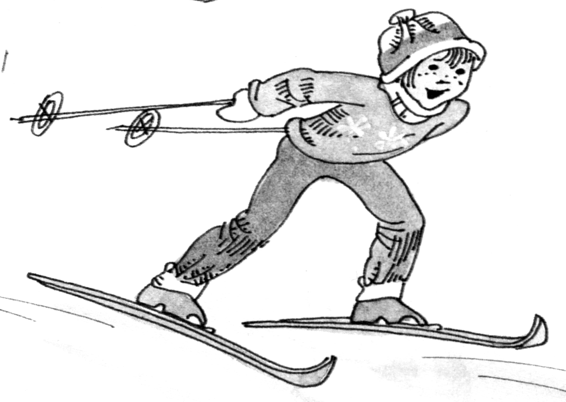 cross country ski instruction