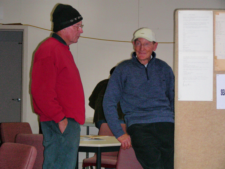 Bob Heddle & Brian Woinarski
