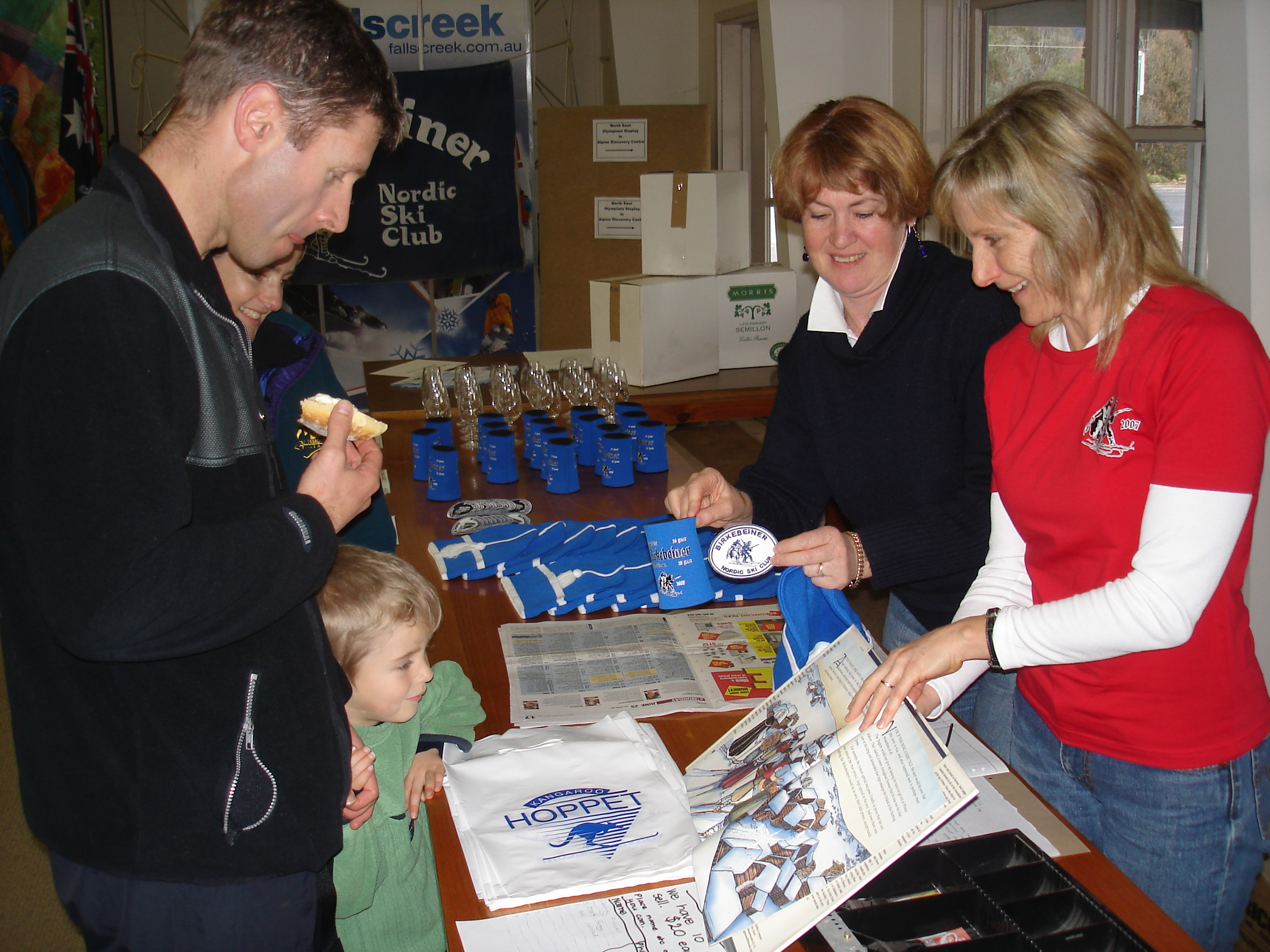 Mark Gray, Sue Hertozg & Jenny Flower